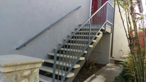Iron-Based Precast Stair Railing